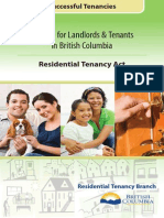 Residency Tenancy Act
