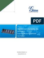 Gxp2200ext User Manual