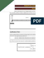 Verification Dimensionnement Section Panne _ Flexion Deviee _ Eurocode 5