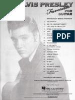 Book-Elvis Presley Favorites for Guitar