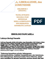 Pancasila, Liberalisme, Dan Komunisme
