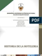 Historia Hoteleria
