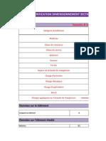 Verification Dimensionnement Section Poutre Sur 2 Appuis Avec 1 Charge Ponctuelle _ Flexion Simple _ Eurocode 5
