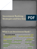 Investment Banking Strategies KeyIssues 201010