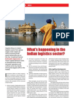 May 2008 - What is Happening in the Indian Logistics Sector