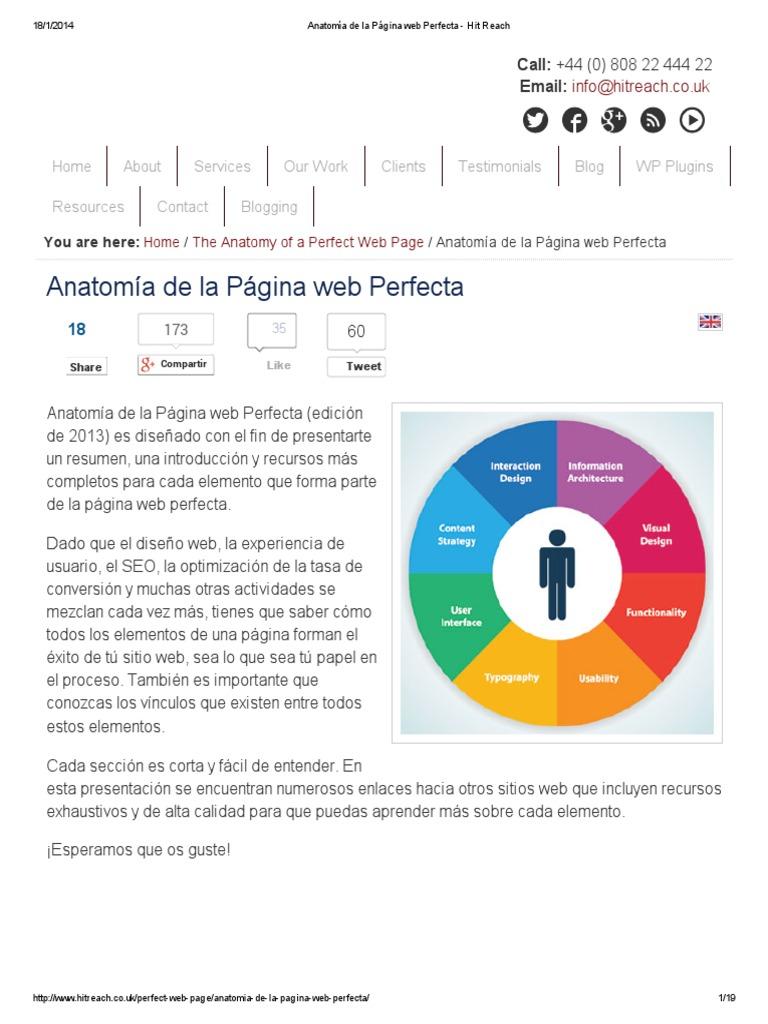 Lujo Anatomía De La Página Web Elaboración - Imágenes de Anatomía ...