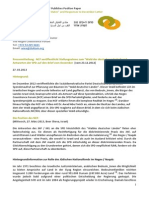 """130327_PM_NCF veröffentlicht Stellungnahme zum """"Wald der deutschen Länder"""""""