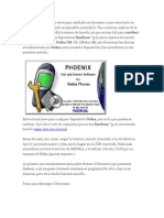 Flashear un dispositvo sirve para cambiarle su firmware o para resucitarlo en casos graves.docx