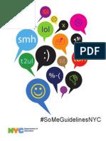 Student Social Media Guidelines