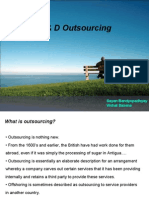 R & D Outsourcing