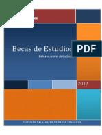 IPFE-InformacionGlobaldeBecas2012-030812