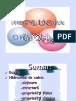 Hidroxidul de Calciu