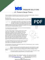 P103 Pressure Gauge Theory