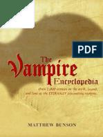 156046227 the Vampyre Encyclopedia
