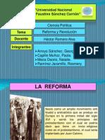 Expsicion de Revolucion y Reforma