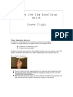 Steve Fidyk Inside Big Band Drum Part