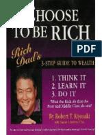Robert Kiyosaki - You Can Choose to Be Rich (Scanned)