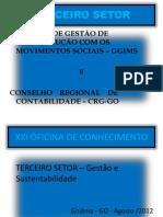 CONSELHO REGIONAL DE CONTABILIDADE – cenario fiscal
