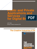 Public and Private Applications and Services for Digital Britain