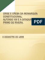 Crise da resturación e ditadura de Primo..pptx