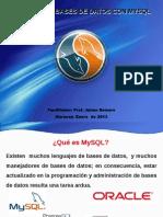 Taller MySQL - PHPMyAdmin