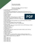 Sbi Bank Clerk 2008 Solved Paper (Held on 06-07-2008 Second