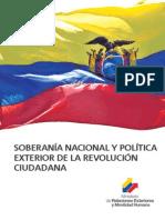 Soberanía Nacional y Política Exterior de la Revolución Ciudadana