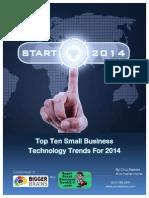 Top Tech Trends 2014 - Coauthor Versionb