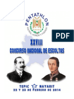 Convocatoria Escoltas Pdmu Nayarit