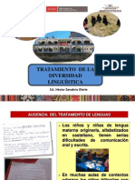 Tratamiento de Lenguas II TALLER 2013