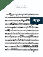 Mozart Symphony No.39 Cello