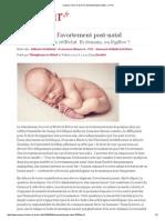 Vers le droit à l'avortement post-natal