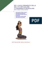 ESERCIZI MOBILITA ARTICOLARE yoga esercizi