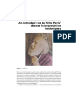 Perls Dream Interpretation