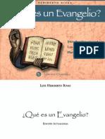 Qué es un Evangelio, Luis Heriberto Rivas