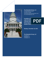 Maine Medicaid Expansion Report - Dec. 16 2012 Initial Draft