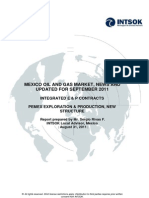 Mexico Oil & Gas Market Report September 2011