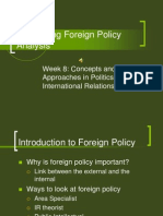 Foreign Policy A