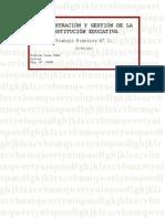ADMINISTRACIÓN Y GESTIÓN DE LA INSTITUCIÓN EDUCATIVA (TP N° 2)