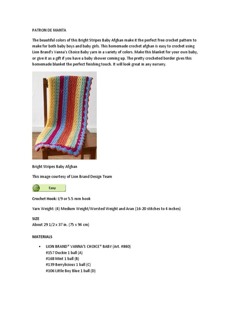 Patron de Manta | Crochet | Crafts