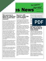 e-dues news 12-5-13