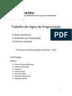 Bases Numéricas (Informações)