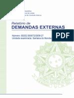 CGU 5277_ RDE - AL - Santana do Mundaú - 00202.000072-2009-27