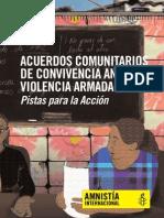 Acuerdo Comunitarios de Convivencia (Version Electronica)