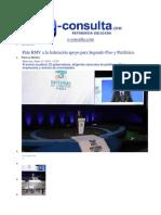 15-01-2014 e-cosulta.com - Pide RMV a la federación apoyo para Segundo Piso y Periférico