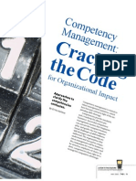 Competency Management-cracking the Code
