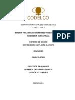 GDR-CDI-37963-R0 Criterio de Diseño Distribución en Planta _layout_