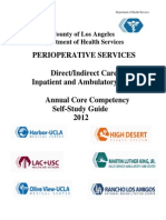 DHS Annual Core Competency Perioperative Study Guide 2012