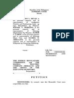 Anakpawis Petition for Certiorari, Prohibition and Mandamus