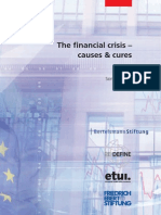 The Financial Crisis Causes and Cures by Sony Kapoor